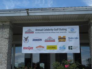 Image showing sponsors of the 2017 Celebrity Golf Outing